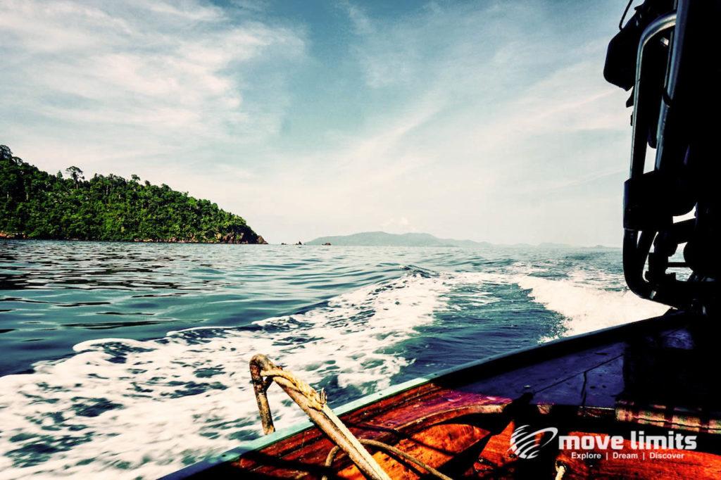 Schnorcheln im Paradies - Krabi Thailand - Andamanensee - movelimits.de