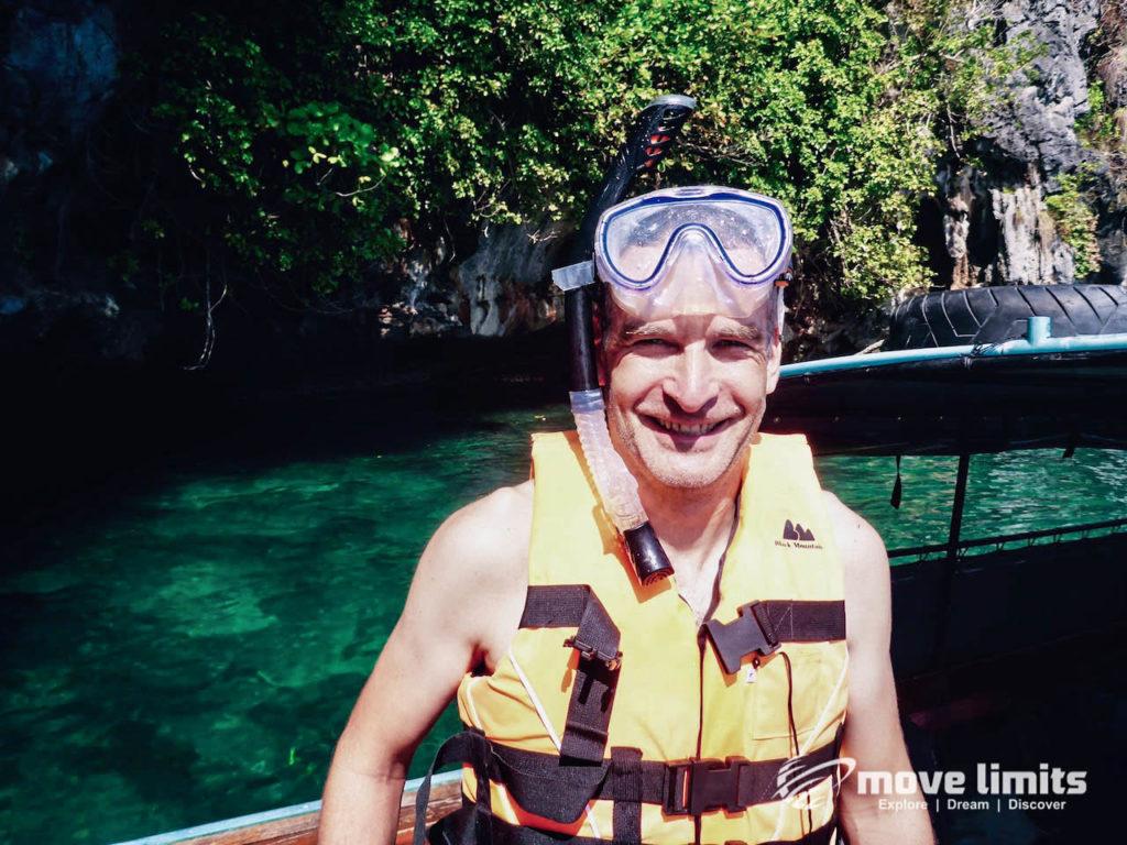 Schnorcheln im Paradies - Krabi Thailand - Schnorcheln Premiere - movelimits.de