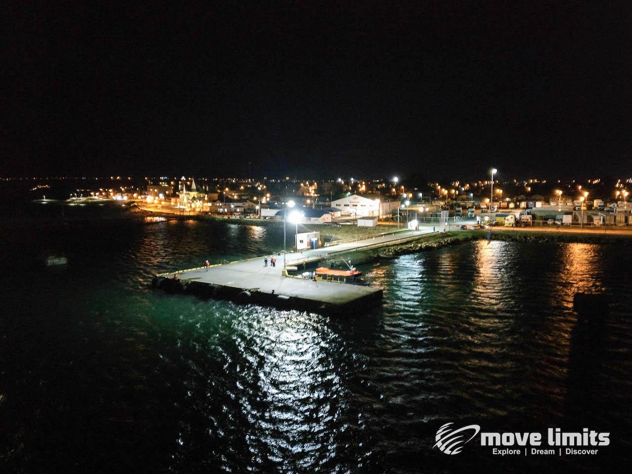 Hafen von Puerto Natales_Kreuzfahrt in Patagonien_movelimits.de