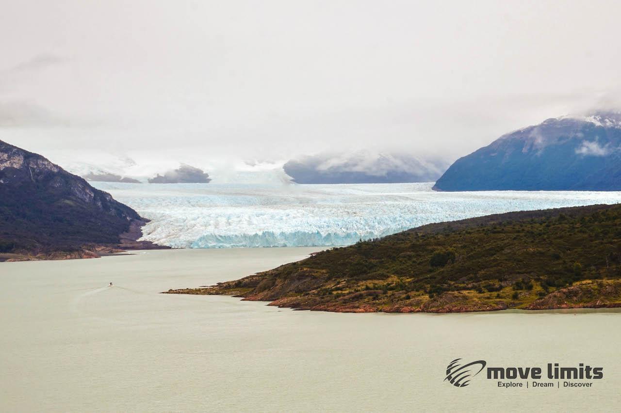 Perito Moreno Gletscher in Argentinien -Erster Blick - movelimits.de