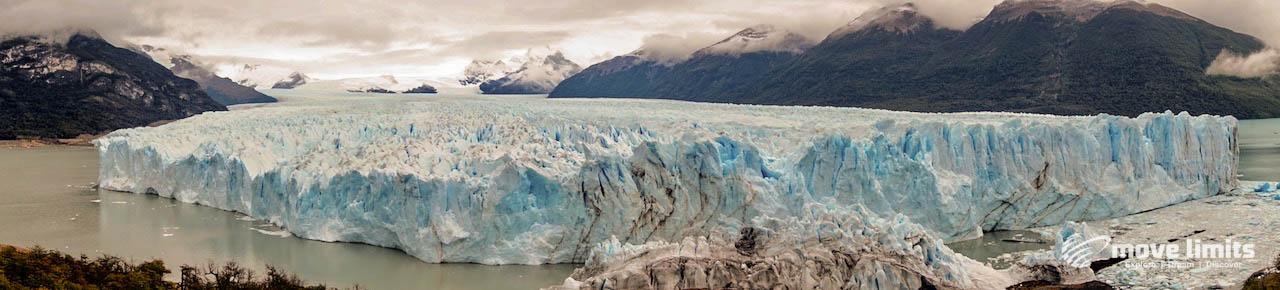 Perito Moreno Gletscher in Argentinien - Panorama - movelimits.de