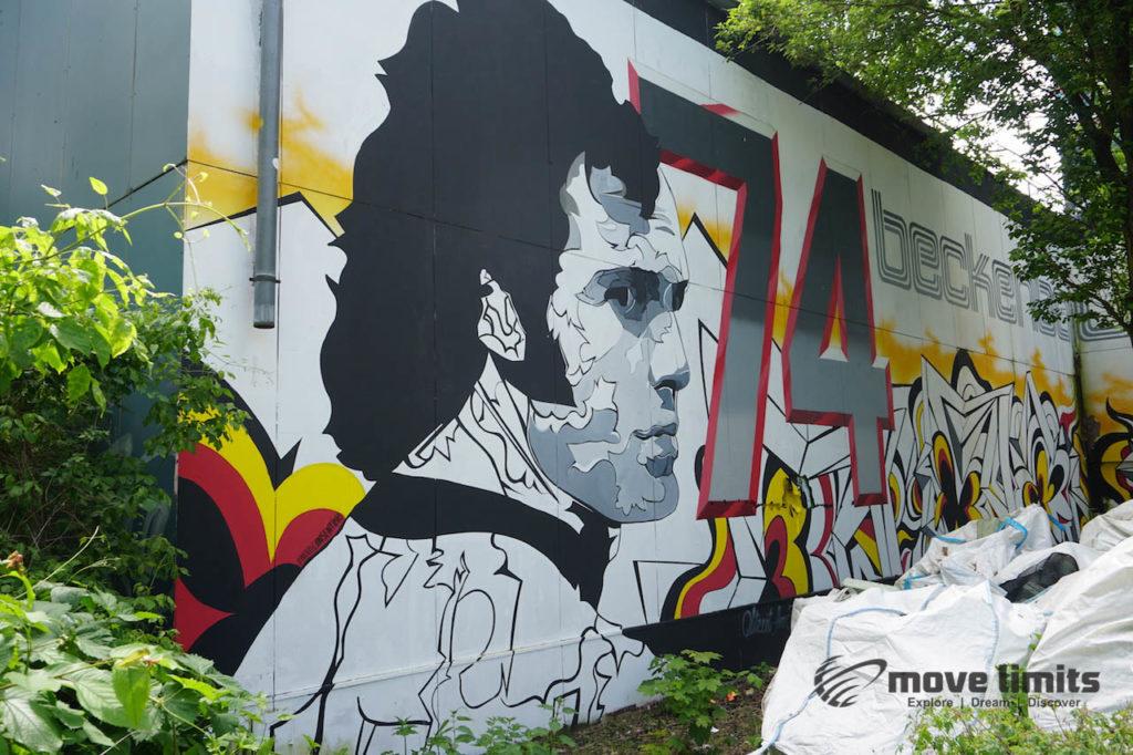 Abhörstation Teufelsberg Berlin - Kalter Krieg und Graffiti - movelimits.de - Beckenbauer