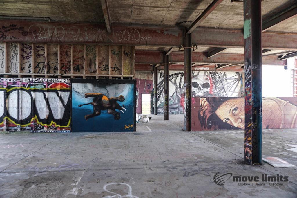 Abhörstation Teufelsberg Berlin - Kalter Krieg und Graffiti - movelimits.de - Galerie
