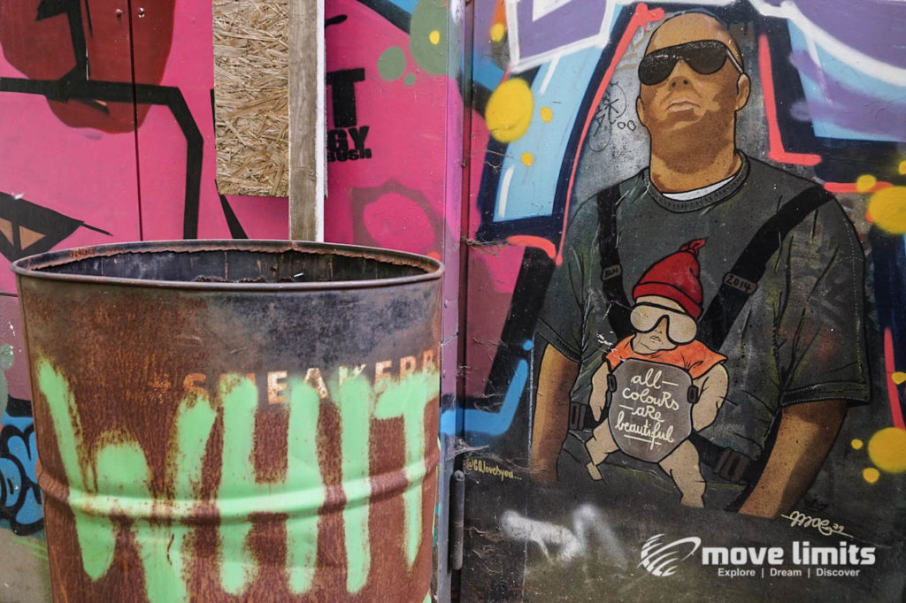 Abhörstation Teufelsberg Berlin - Kalter Krieg und Graffiti - movelimits.de - Hangover