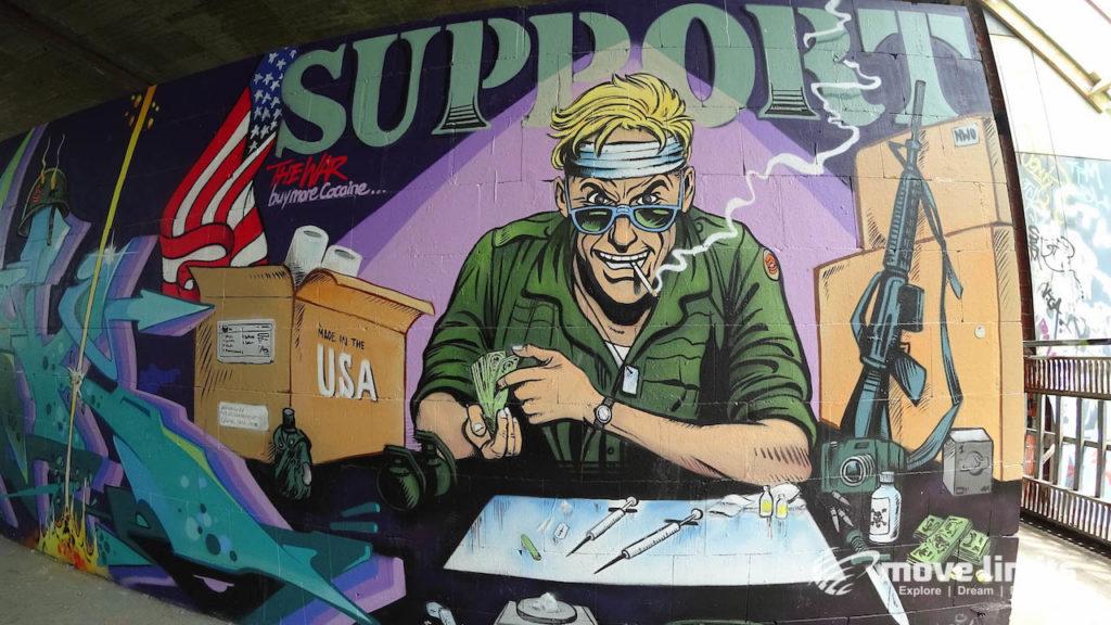 Abhörstation Teufelsberg Berlin - Kalter Krieg und Graffiti - movelimits.de - US Soldier
