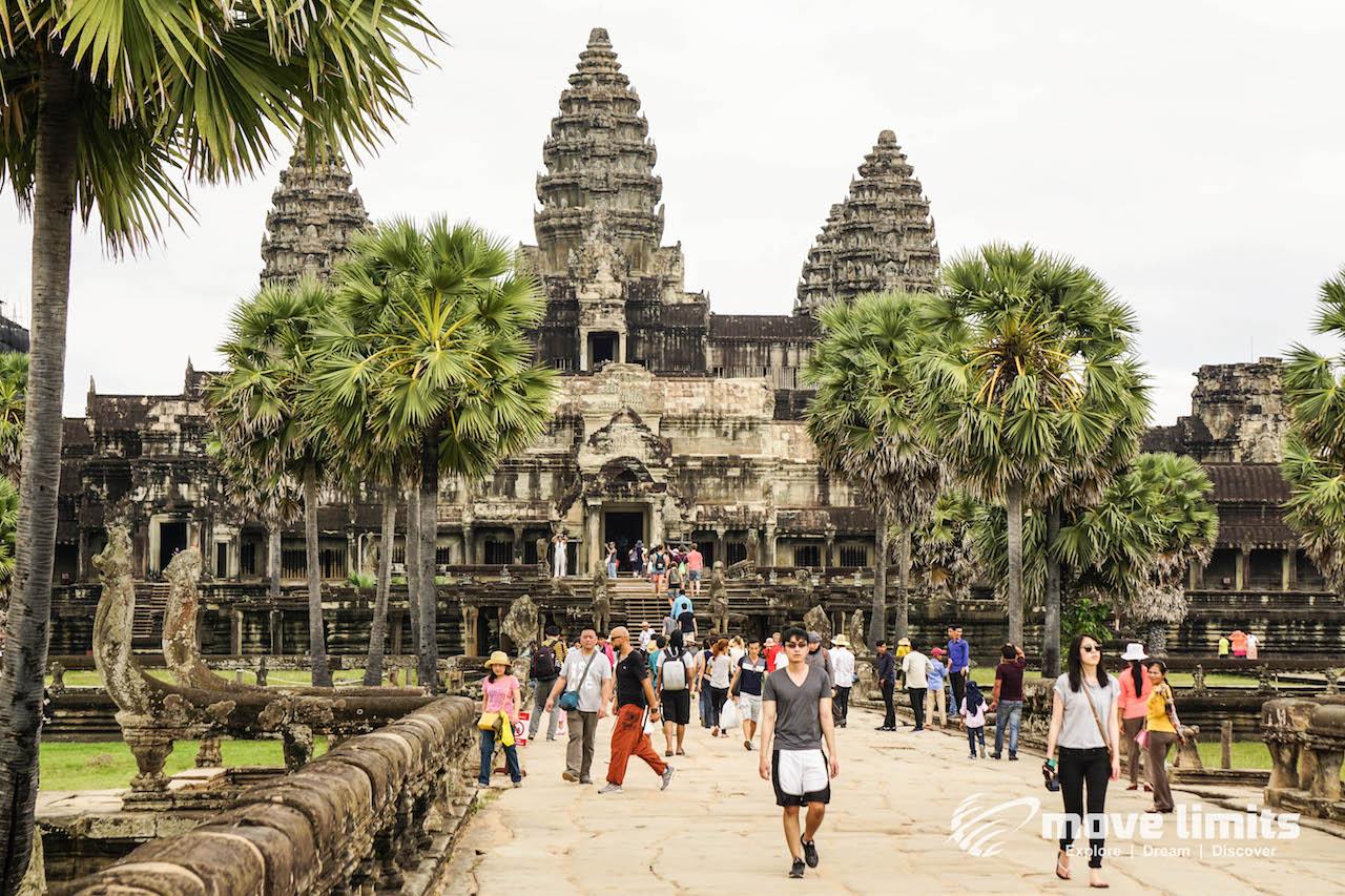Angkor Thom und Angkor Wat - movelimits.de - Angkor Wat