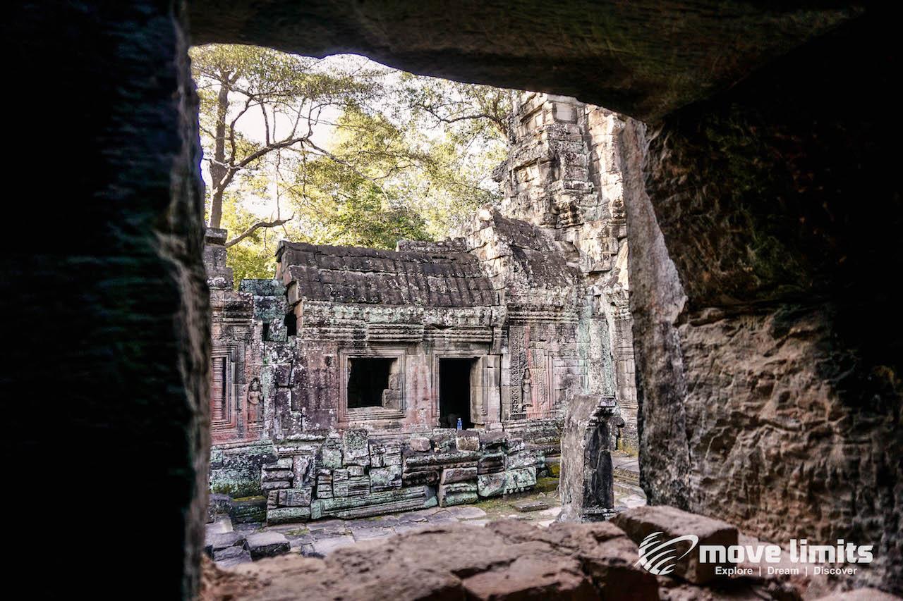 Angkor Thom und Angkor Wat - movelimits.de - Banteay Kdei - Innenhof