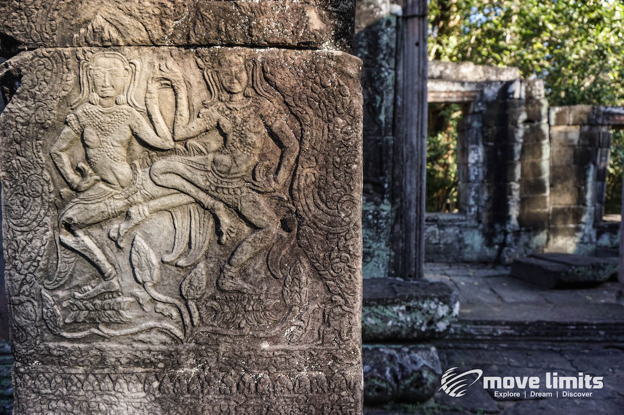 Angkor Thom und Angkor Wat - movelimits.de - Banteay Kdei_