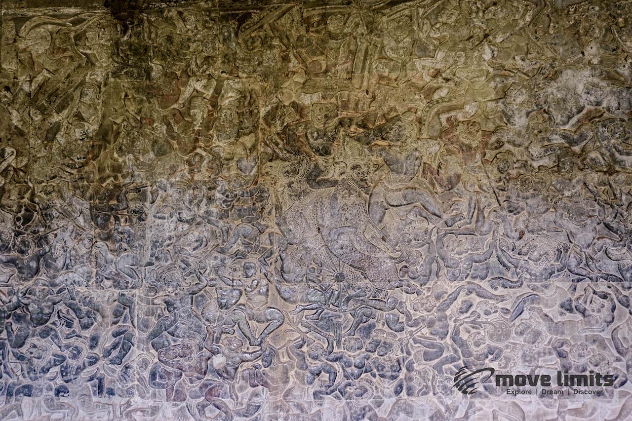 Angkor Thom und Angkor Wat - movelimits.de - Details in Angkor Wat
