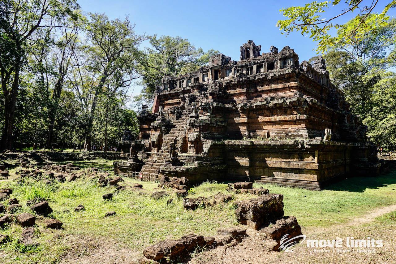 Angkor Thom und Angkor Wat - movelimits.de - Phimeanakas Tempel