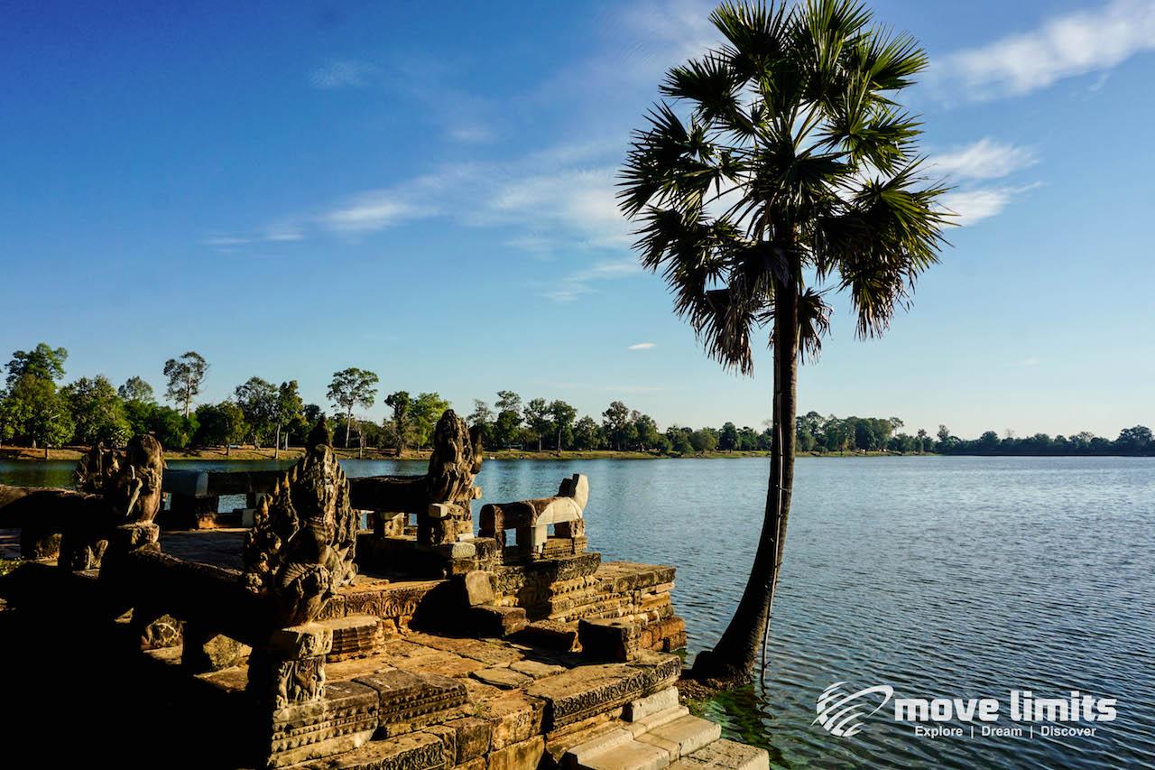 Angkor Thom und Angkor Wat - movelimits.de - Sras Srang
