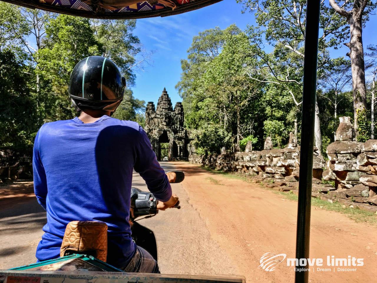 Angkor Thom und Angkor Wat - movelimits.de - Tuk Tuk