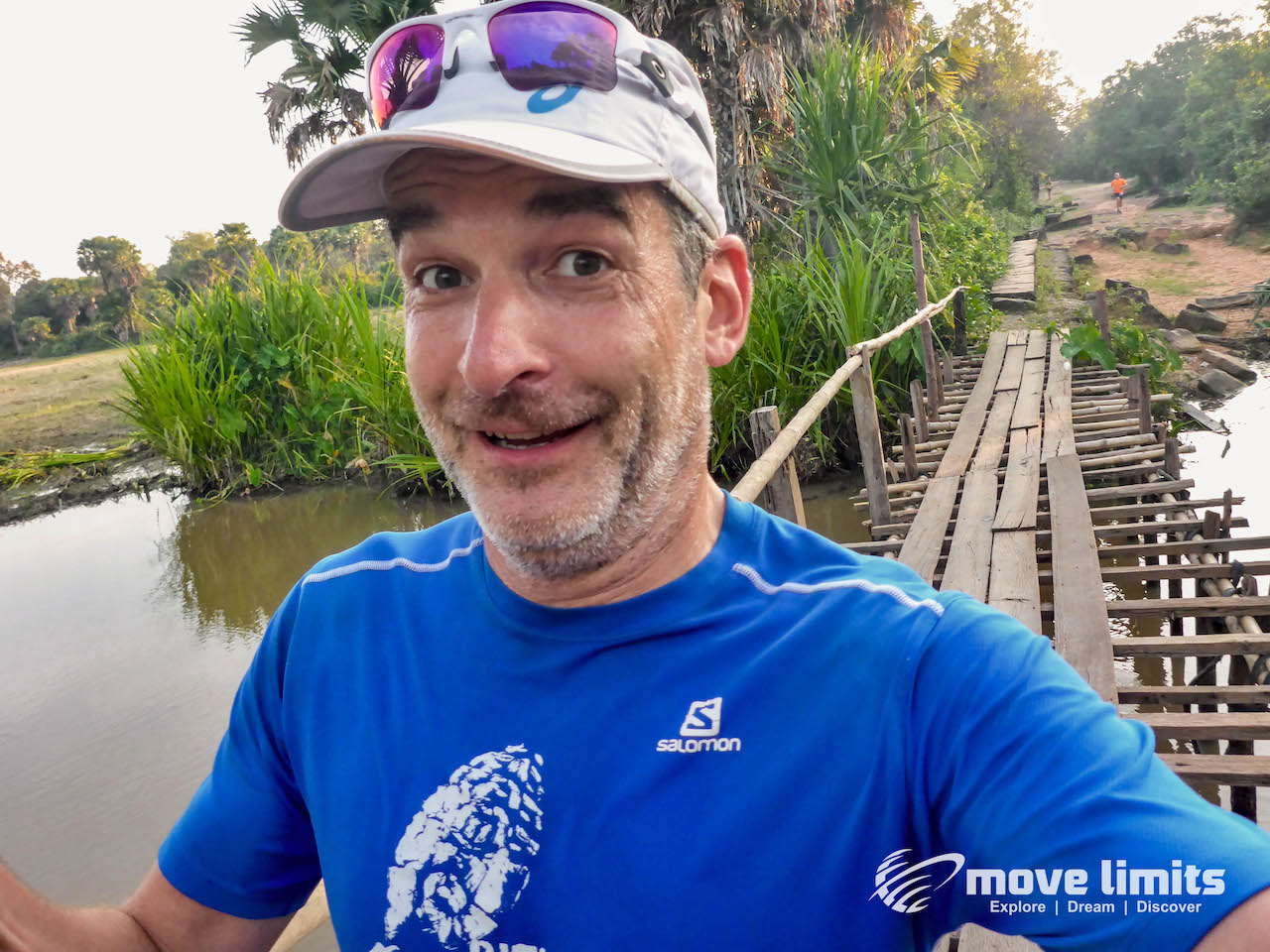 Angkor Thom und Angkor Wat - movelimits.de - Ultra Trail Angkor -auf der Strecke-movelimits.de