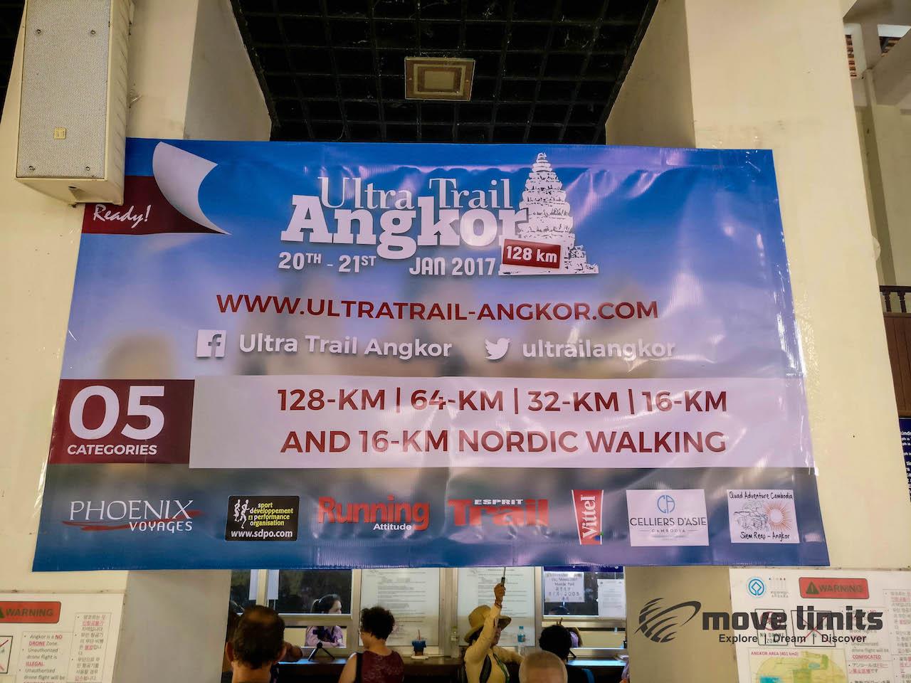 Angkor Thom und Angkor Wat - movelimits.de - Ultra Trail Angkor